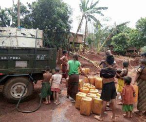 လွိုင်ကော်ခရိုင်အတွင်း ရေ ပိုရှားလာနိုင်သည့်အတွက် ရေပေးဝေရသည့် ကျေးရွာပိုများနေ
