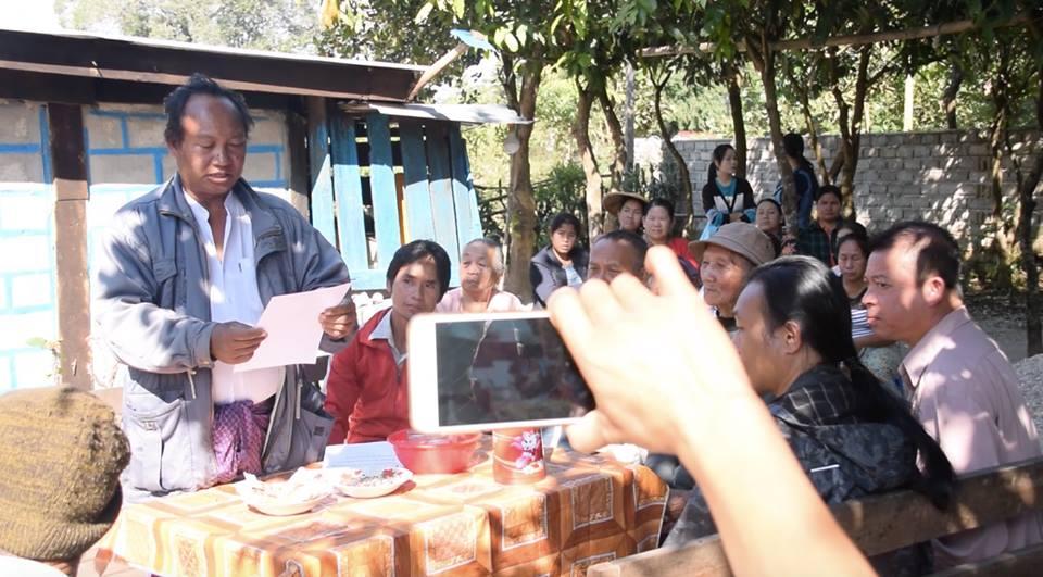 တပ်သိမ်းထားသည့် ငွေတောင်ရွာဟောင်းမြေပြန်ရဖို့ ဒေသခံများတောင်းဆိုကြ