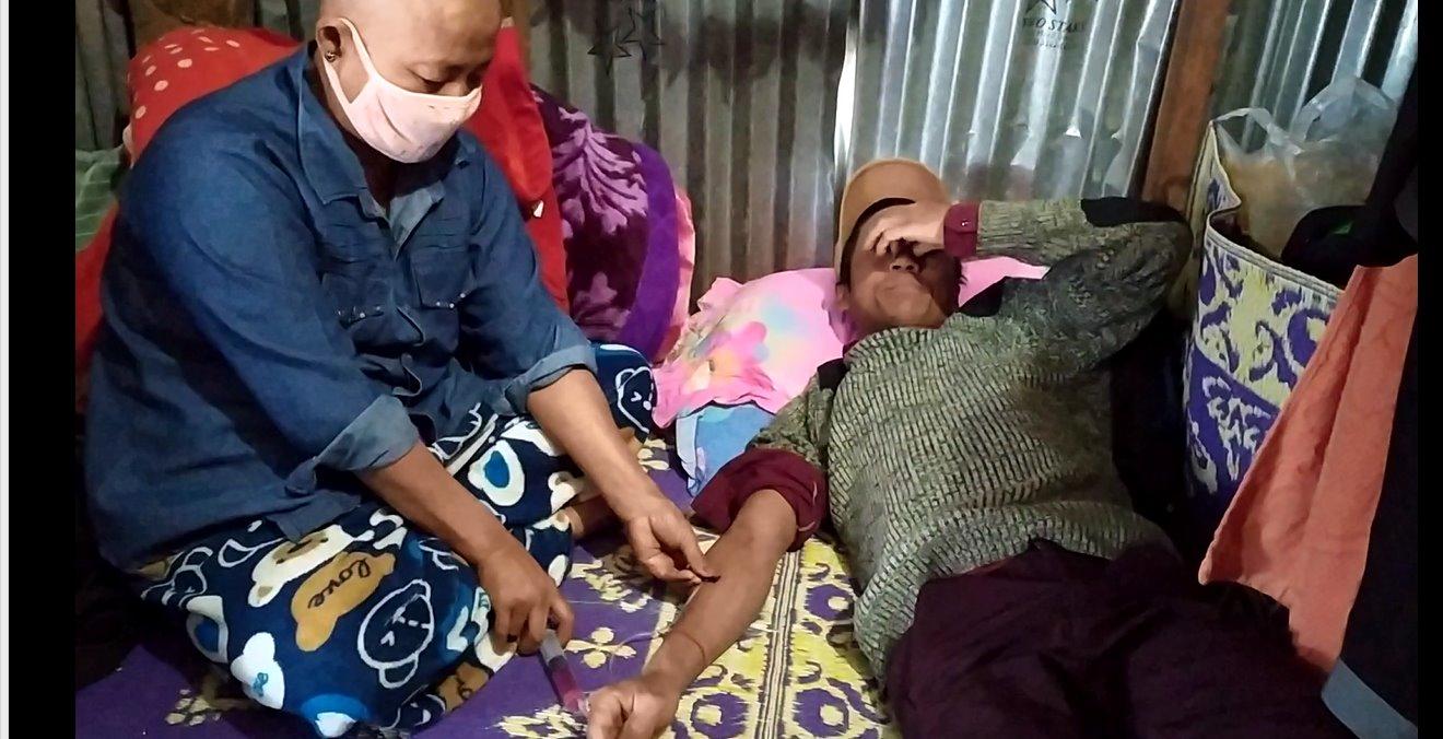 မော်ချီးဒေသကျေးရွာတွေမှာ ကျန်းမာရေးစောင့်ရှောက်မှု လိုအပ်နေကြ