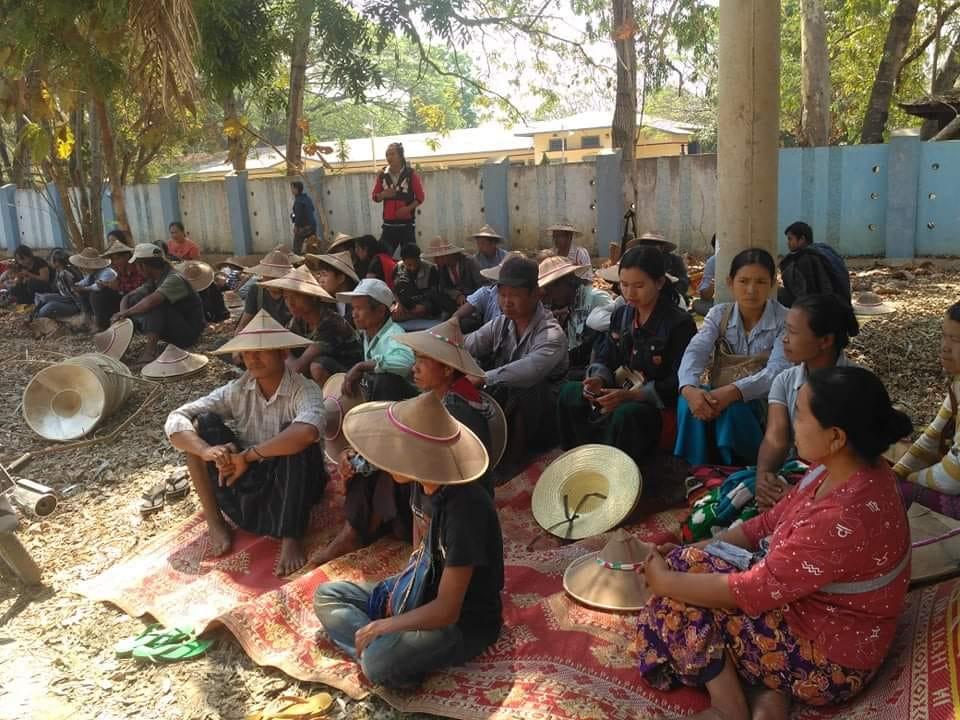 လွိုင်ကော်မြို့နယ်ထဲက တရားစွဲခံတောင်သူတွေကို ဒဏ်ငွေ နှင့် ထောင်ဒဏ်များချမှတ်