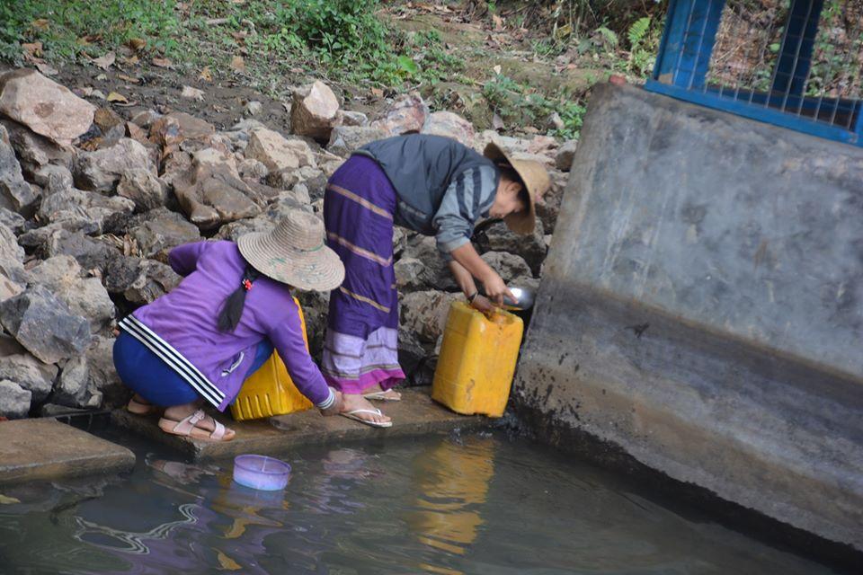 ဟိုဝမ်ကျေးရွာအုပ်စုတွင်း အိမ်တိုင်ရာရောက် ရေပေးဝေမှု အချိန်ကြန့်ကြာနေ