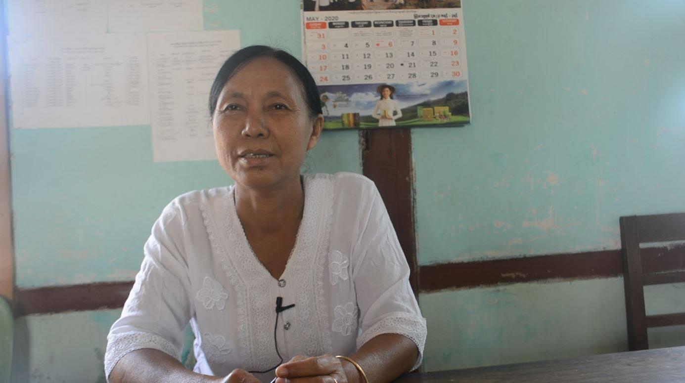"""""""ပြည်သူတွေလဲ မဲလာထည့်ဖို့က နံပတ်(၁) လိုချင်တယ်။"""" လို့ဆိုတဲ့ USDP မြို့နယ်ဥက္ကဌနှင့် တွေ့ဆုံခြင်း"""