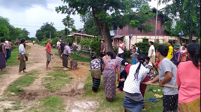 တနီးလာလဲ(ကန်ခုနှဆင့်) ကျေးရွာရဲ့ မိုးခေါ်ပွဲ သို့မဟုတ် ဆုံဆွဲပွဲ