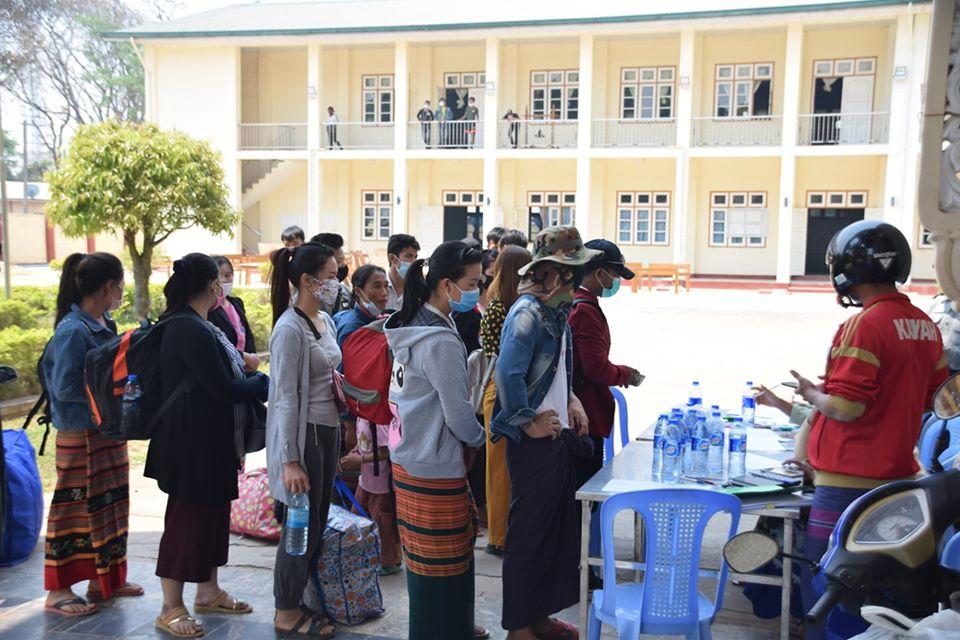 Facility Quarantine ဝင်ရောက်သူတွေထဲမှာ ထိုင်းပြန် အများဆုံးဖြစ်